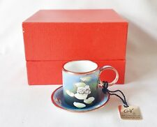 Boxed Charlotte di Vita Evening Flowers Cup and Saucer Boxed