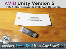Avid Unity Dongle Version 5 with 24 Seats and RAID Option