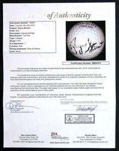 PAYNE STEWART SIGNED AUTO AUTOGRAPH TOP FLITE GOLF BALL JSA/DNA