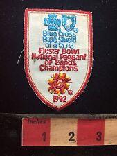 Blue Cross Shield Arizona 1992 Fiesta Bowl Patch Nat'l Pageant Of Bands 75WZ