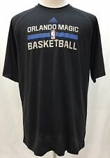 Orlando Magic Black Shirt Adidas ClimaLite Men's LT Large Tall