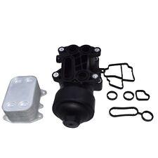 Oil filter Housing & Cooler Fit For AUDI VW SEAT SKODA 1.6 2.0 TDI 03L115389G