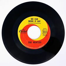 BEATLES - We Can Work It Out / Day Tripper 45rpm 1965 CAPITOL 5555 John Lennon
