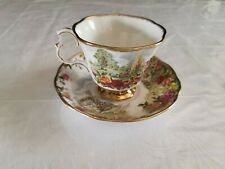 Royal Albert Old Country Roses 25th Anniversary Teacup And Saucer