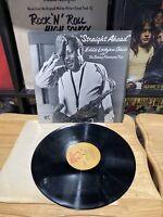 EDDIE LOCKJAW DAVIS Straight Ahead with Tommy Flanagan Trio JAZZ PROMO LP Vinyl
