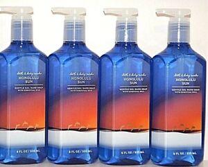 *NEW* 4-Pack HONOLULU SUN Gel Hand Soap 8 oz Bath & Body Works SHIPS FREE!