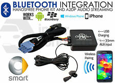 Smart Car Bluetooth streaming handsfree calls CTAMSBT001 AUX USB iPhone Samsung