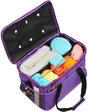 Knitting Bag, Lemeso Yarn Tote Storage Organizer Portable Individual and High