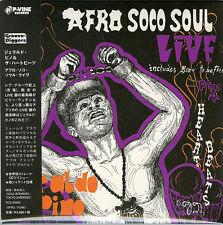 GERALDO PINO AND THE HEARTBEATS-AFRO SOCO SOUL LIVE-JAPAN MINI LP CD F30
