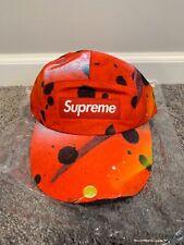 Supreme GORE-TEX Long Bill Camp Cap Rammellzee Red Box Logo - NWT - M/L - SS20