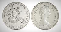 Canada 1983 University Games Proof UNC Silver Dollar!!