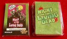 Romero's NIGHT OF THE LIVING DEAD (1968 film) - FULL Base + Chase Set (45 cards)