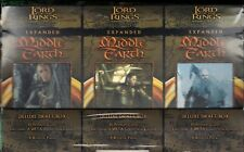 LOTR TCG Expanded Middle-Earth Deluxe Draft Box Lord of the Rings 12 boxes