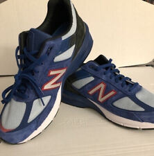 New Balance Men's 990 v5 Size 11.5 Shoes Blue/Red M990NC5 New in Box Made in USA
