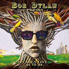 BOB DYLAN & FRIENDS - Decades Live... '61 to '94. New 8CD Box Set + Sealed.