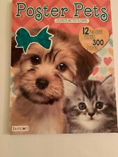 Boster Pets 12 Full Color Posters With Over 300 Stickers