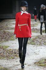 Authentic scale rouge MONCLER Femmes Veste Manteau Taille 0/8uk RRP £ 2,800