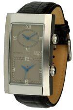 Trias Uhren XXL Automatikuhr mit 2 Uhrwerken Herrenuhr 55 x 32mm
