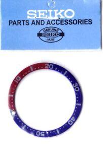 "Seiko SKX013 ""Pepsi"" bezel ring insert Blue / Red HARAJUKO IND. CO. LTD"