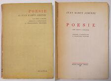 Jiménez POESIE 1946 Guanda Tentori testo a fronte Poesia '900