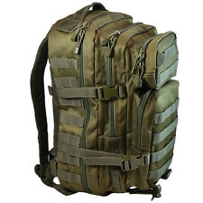 OLIVE GREEN Molle RUCKSACK Assault Small 20L BACKPACK Tactical Army Day Pack