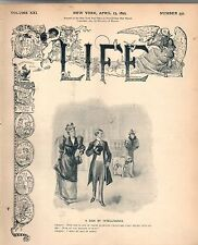 1893 Life April 13 - Bayard appointed Ambassador to Britain; Ponycycle; Revere