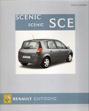Renault Scenic & Grand Scenic Extreme 2007 UK Market Sales Brochure