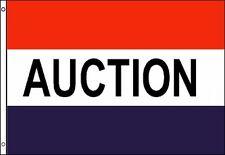 Auction Flag 3x5 ft Business Sign Estate Sale Auto Furniture Art Farm Equipment