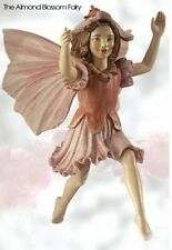 Retired Cicely Mary Barker Almond Blossom Flower Fairy Ornament Figurine Nib