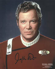 WILLIAM SHATNER STAR TREK GENERATIONS AUTOGRAPH  CAPTAIN KIRK HAND SIGNED PHOTO