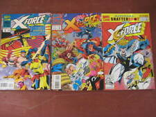3 X-FORCE ANNUALS COMICS-No.1-3-MARVEL ISSUED-VGC-VIEW PHOTO.