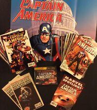 CAPTAIN AMERICA 1 -50 6 34 Marvel Comics 1st app Winter Soldier DEATH CAP Audio