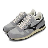Mizuno ML87 1906 RunBird Grey Black Men Casual Lifestyle Shoes D1GA1905-06