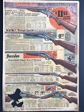 "1930 Western Field BROWNING Single Barrel Shotgun PRINT AD 9"" x 13-1/4"" MWC 315"