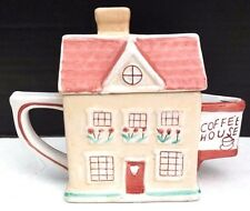 Vintage CERAMIC Coffee House Serving TEA / COFFEE Pot Housewares W/ Lid