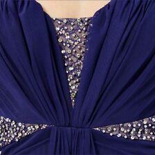 Bandeau adornado de encaje Maxi vestido corte drapeado talla 10 nuevo de LIPSY Vip
