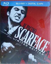 Scarface Steelbook Blu-Ray Limited Edition New & Sealed +Bonus DVD OOP Al Pacino