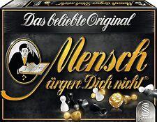 SCHMIDT SPIELE 49290 - MENSCH ÄRGERE DICH NICHT - BLACK EDITION # NEU OVP