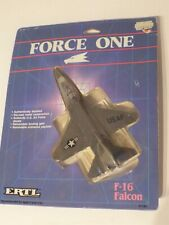 ERTL FORCE ONE 1163 US Air Force F-16 FALCON, 1986 Die Cast Model NEW