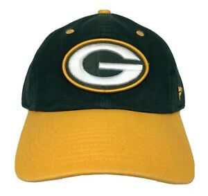 Green Bay Packers Classic Green & Gold Adjustable Hat 3D Logo NFL Licensed NWT