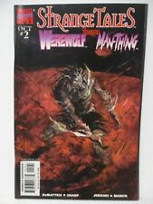 Strange Tales #2 Werewolf by Night variant cover - Marvel 1998