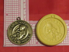 Pro Life Medallion Silicone Mold #132 For Chocolate Candy Resin Fimo Craft