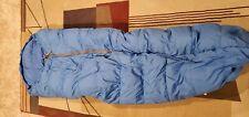 VTG center zip down sleeping/mummy bag