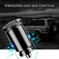 Mini Dual USB Smart Car Fast Charger Adapter 3.1A For Mobile Phone Tablet GPS HS