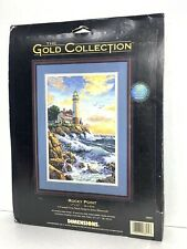 New ListingCounted Cross Stitch Kit Rocky Point Dimensions Gold Collection