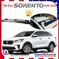 Fits Kia Sorento 2008-2020 Rooftop Rack CrossBar Wind Fairing Air Deflector Kit