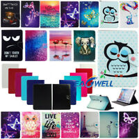 """US For Samsung Galaxy Tab 2/3/4 7.0"""" 8.0"""" 10.1"""" Tablet Universal Case Flip Cover"""