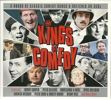 KINGS OF COMEDY - 3 CD BOX SET - TOMMY COOPER, PETER SELLERS , BENNY HILL & MORE