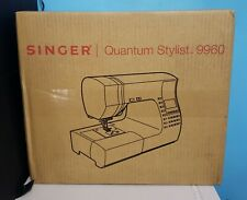 Singer 9960 Quantum Stylist 600-Stitch Computerized Sewing Machine *IN HAND*