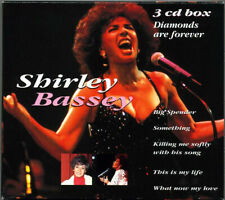 """Shirley Bassey - """"Diamonds Are Forever""""- Greatest Hits - BRAND NEW 3CD SET"""